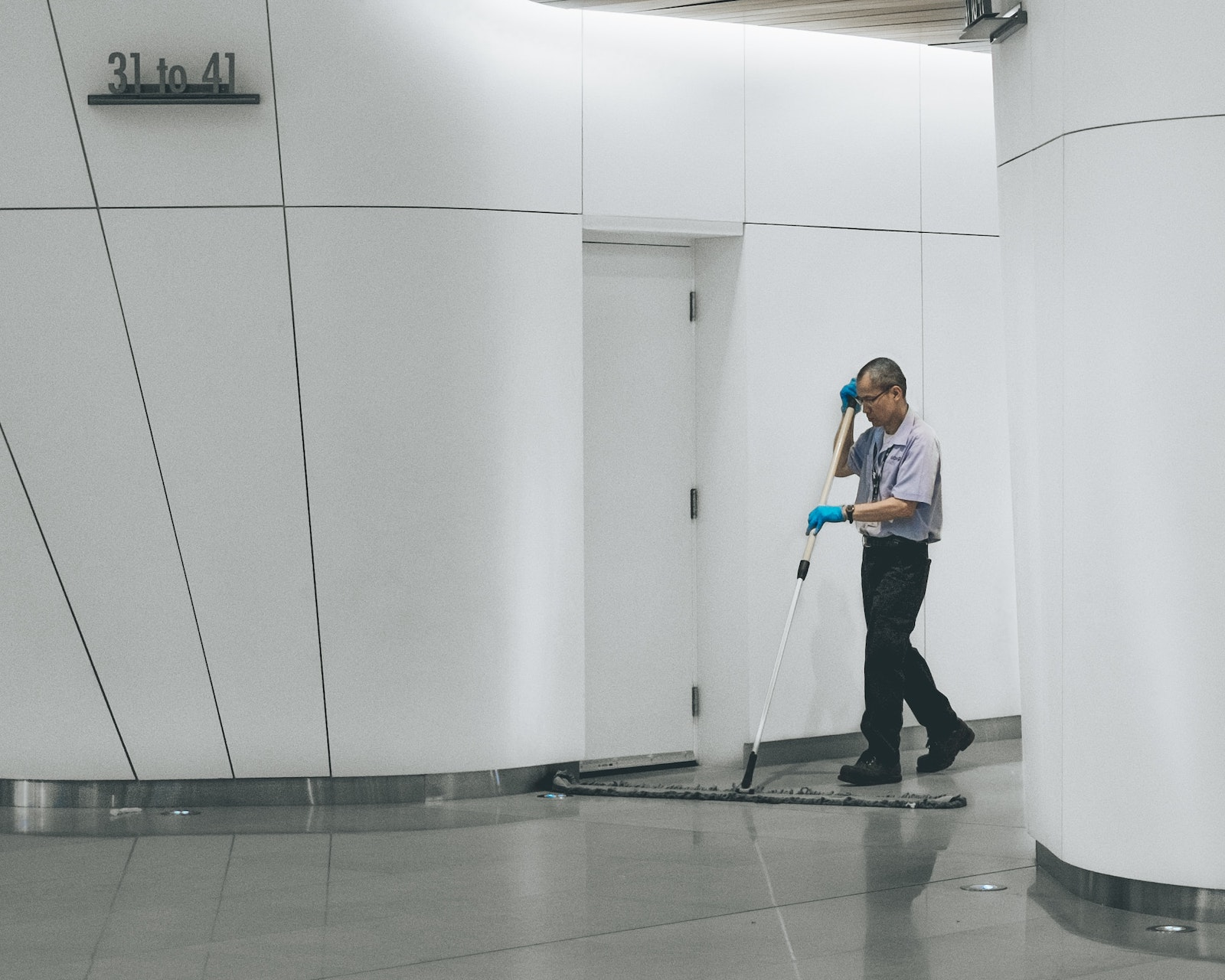 cleaning janitor